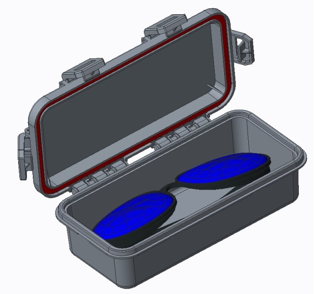 Eyeglasses box